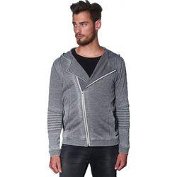 Sweat-shirt Sweat zippé Harlo Grey Melange - Japan Rags - Modalova