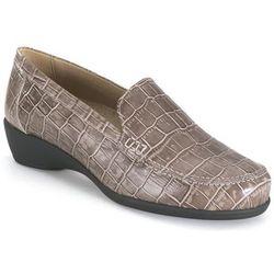 Chaussures orthopédique taupe mocassin - Calzamedi - Modalova