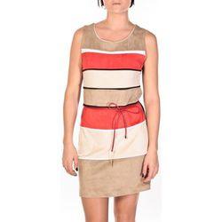 Robe Robe Torino beige/rouge/crème - Dress Code - Modalova