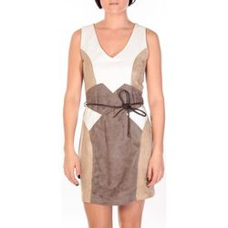 Robe Robe Fraise blanc/beige/marron - Dress Code - Modalova