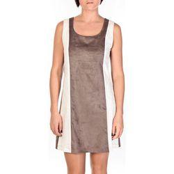Robe Robe Venetie blanc/marron - Dress Code - Modalova