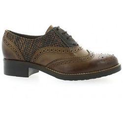Chaussures Derby cuir python - Donna Più - Modalova