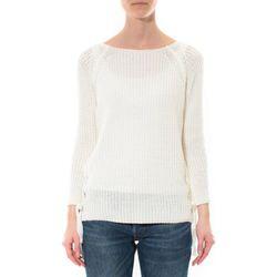 Pull Pull Lacets Blanc - De Fil En Aiguille - Modalova