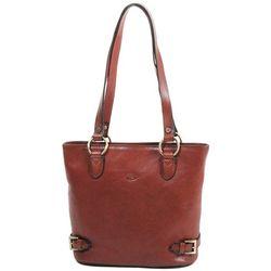 Cabas Sac Shopping En Cuir De Vachette Collet K 82150 - Katana - Modalova