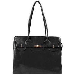 Cabas Sac Shopping En Cuir De Vachette Collet K 82529 - Katana - Modalova