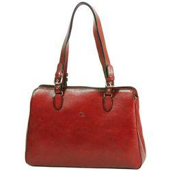 Cabas Sac Shopping En Cuir De Vachette Collet K 82365 - Katana - Modalova
