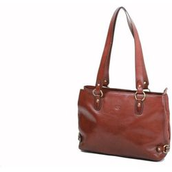 Cabas Sac Shopping En Cuir De Vachette Collet K 82617 - Katana - Modalova