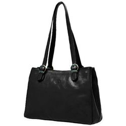 Cabas Sac Shopping En Cuir De Vachette Collet K 82533 - Katana - Modalova