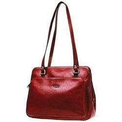 Cabas Sac Shopping En Cuir De Vachette Collet K 82374 - Katana - Modalova