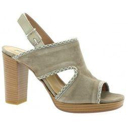 Sandales Nu pieds cuir velours - Donna Più - Modalova