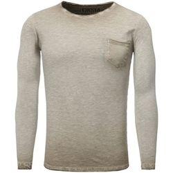 T-shirt T shirt manche longue mode T-shirt 3174 beige - Carisma - Modalova