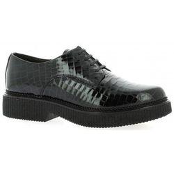 Chaussures Derby cuir vernis croco - Exit - Modalova