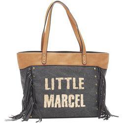 Cabas Sac Shopping Victoire Noir VI 01 - Little Marcel - Modalova