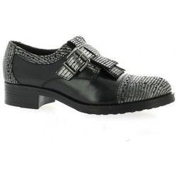 Chaussures Derby cuir laminé - Donna Più - Modalova