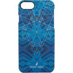 Housse portable COQUE IPHONE GOMTRIQUE BLUE CVGEBL - Devid Label - Modalova