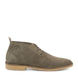 Desert boots en daim - taupe - Sacha - Modalova