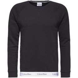 Sweatshirt pyjama col rond manches longues - coton - Calvin Klein Underwear - Modalova