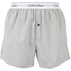 Caleçon en Coton Tissé - Ceinture Siglée - Calvin Klein Underwear - Modalova