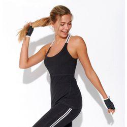 Promo : Tee-shirt fitness dos nageur bretelles élastiques - Noir - 3 SUISSES - Modalova