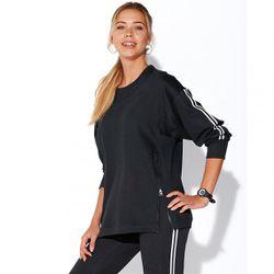 Sweat fitness manches longues zips devant - Noir - 3 SUISSES - Modalova