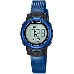 Montre Montres K5736-6 - Montre Silicone Bleu - Calypso - Modalova