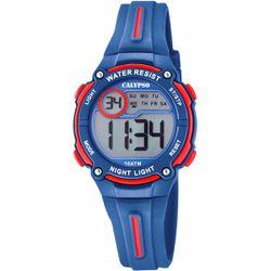 Montre Montres K6068-4 - Montre Silicone Bleu - Calypso - Modalova