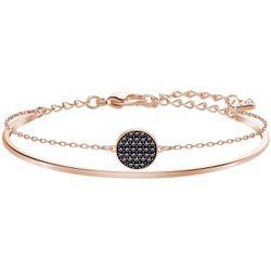 Bracelet Swarovski Ginger Bangle - Bracelet Acier Or Rose - 5389046-M - Modalova