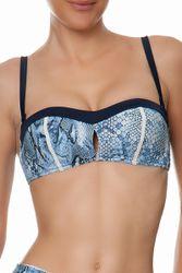 Haut de maillot de bain bandeau Gin Fizz Bleu - Dessus Dessous_Affiliate - Modalova