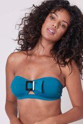 Haut maillot de bain bandeau Loulou Bleu zellige - Dessus Dessous_Affiliate - Modalova