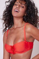 Haut maillot de bain bandeau Paloma Rouge-tangerine - Dessus Dessous_Affiliate - Modalova