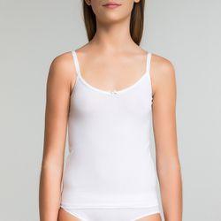 Caraco blanc en coton DIM Girl - DIM - Modalova