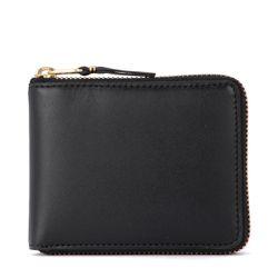 Portefeuille en cuir noir - Comme des Garçons Wallet - Modalova