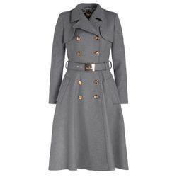 Cappotto color grigio fumo - ELISABETTA FRANCHI - Modalova