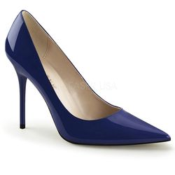 Escarpins bleu vernis - Pointure : 35 - Pleaser - Modalova