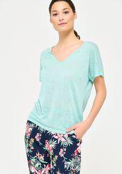 T-shirt large avec strass - LolaLiza - Modalova