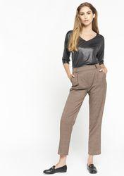 Pantalon classique à carreaux - LolaLiza - Modalova
