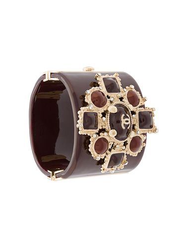 Bracelet manchette à ornements - Chanel Pre-Owned - Shopsquare