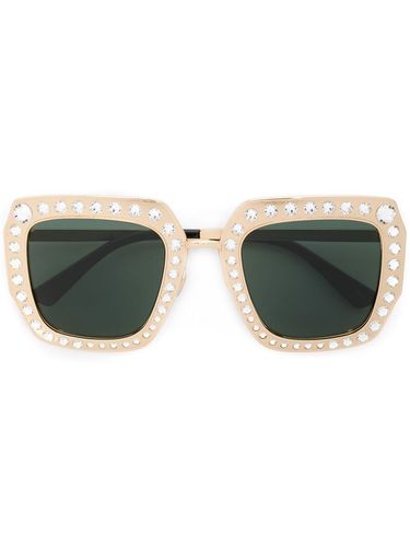 Studded square sunglasses - Gucci Eyewear - Shopsquare