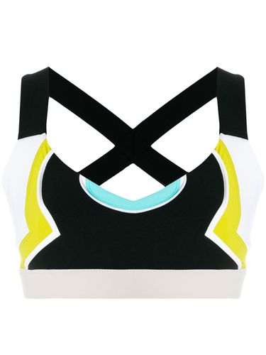 Color block cropped top - No Ka' Oi - Shopsquare