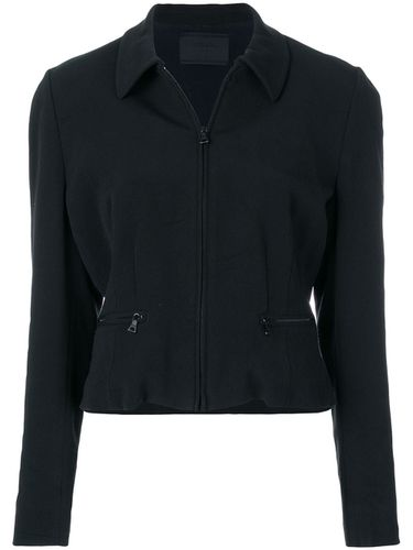 Zipped fitted jacket - Prada Pre-Owned - Shopsquare