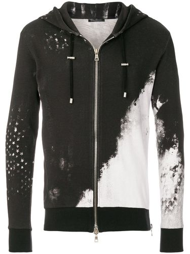 Sweat zippé imprimé - Balmain - Shopsquare
