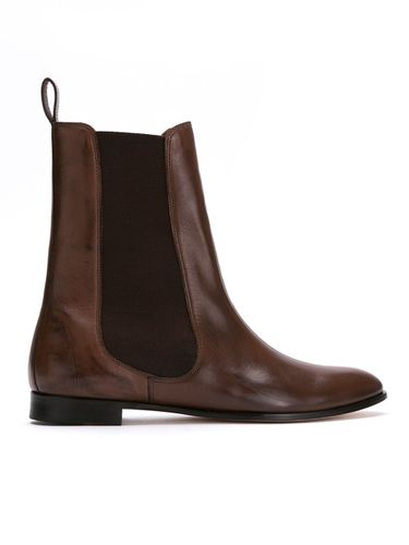 Leather chelsea boots - Sarah Chofakian - Shopsquare