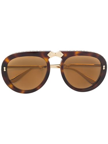 Aviator foldable sunglasses - Gucci Eyewear - Shopsquare