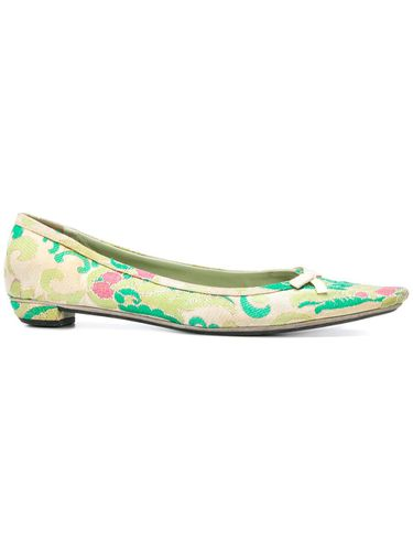 Jacquard pointed ballerinas - Prada Pre-Owned - Shopsquare