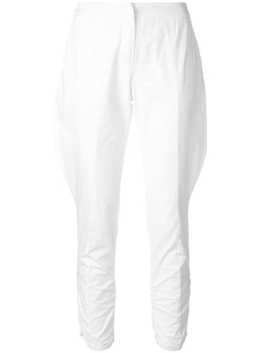Baggy detail cropped trousers - Giorgio Armani Pre-Owned - Modalova