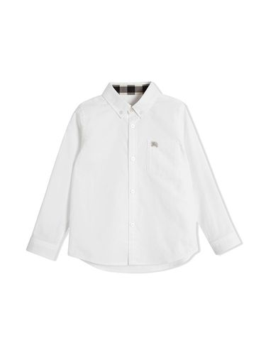 Chemise Oxford - Burberry Kids - Shopsquare