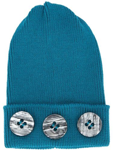 Button beanie - Bleu - 0711 - Shopsquare