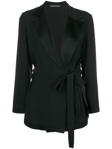 Belted tailored jacket - Alberta Ferretti - Shopsquare