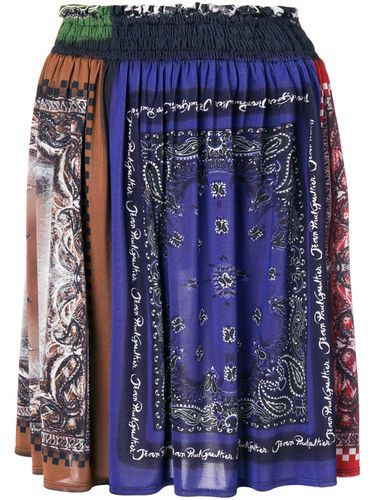 Bandana print gathered skirt - Jean Paul Gaultier Pre-Owned - Shopsquare
