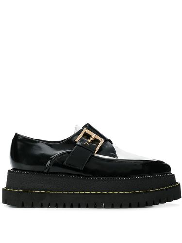 Nº21 buckled creepers shoes - Noir - Nº21 - modalova